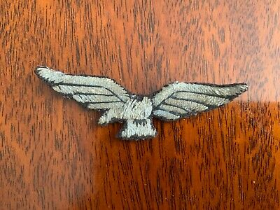 Original Ww1 1918  1st Pattern Blue Uniform Cloth Shoulder Eagle Badge • 11.83£