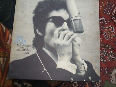 Bob Dylan The Bootleg Series 1961- 1991 Rare And Unreleased 3x Cassette Box Set • 8.99£