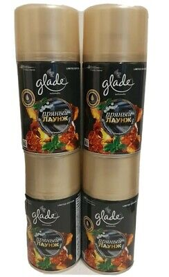 £10.99 • Buy Glade Automatic Spray Refills  Amber Beats X 4 Cans