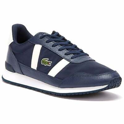 Lacoste Partner Navy / Off White (Z106) Textile / Leather Mens Trainers • 44.99£