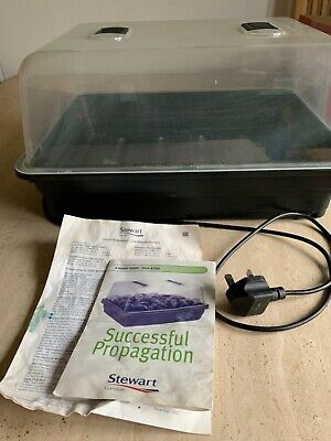 Stewart Electric Propagator With Thermostatic Control+ Booklets • 21£