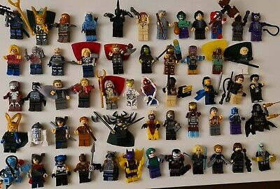 Joblot Of MINIFIGURES New In Bags. Christmas Stocking Filler. Lego Compatible  • 7.16£