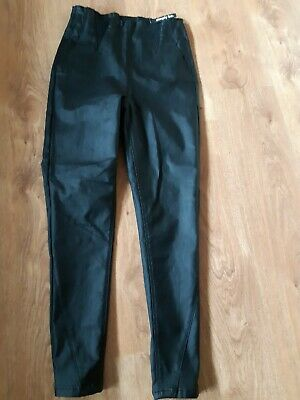 Simply Be High Waist Leather Look Shaper Jeggings Size 14 • 5.50£
