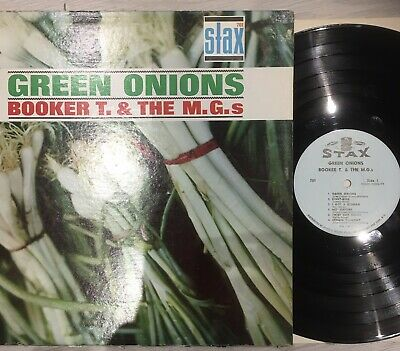 BOOKER T & THE MGs - Green Onions ~ VINYL LP On Stax Blue Label • 9.99£