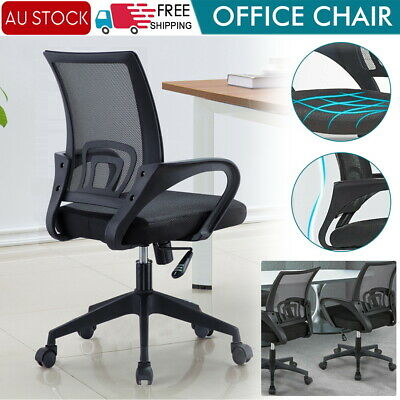 AU38.99 • Buy Office Chair Gaming Chair Computer Mesh Chairs Work Executive Seating Study Seat