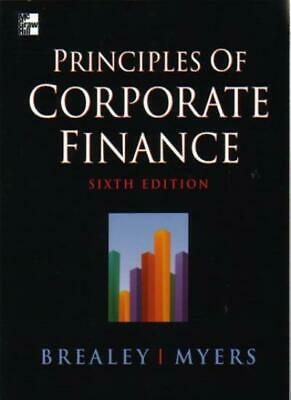 £4.37 • Buy Principles Of Corporate Finance By Richard A. Brealey, Stewart  .9780077098438