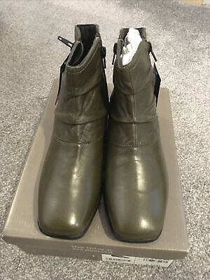 Ladies Pavers Leather Ankle Boots Size 5 Bnib • 7£