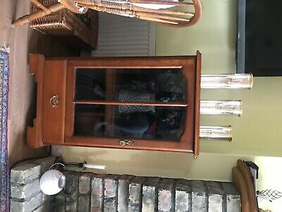 Vintage Retro Quality Teak Stain Furniture Cabinet Unit By Younger • 25£