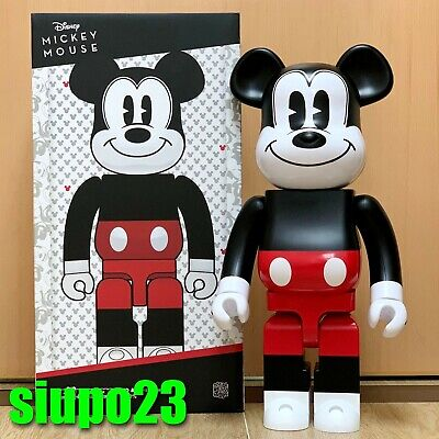 $649.99 • Buy Medicom 1000% Bearbrick ~ Mickey Mouse 2020 Red & White Be@rbrick R&W