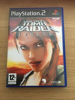PS2 Lara Croft Tomb Raider Legend Game • 0.99£