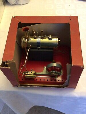 Mamod Se2 Live Steam Stationary Engine With Meths Burner  - Good Used • 65£