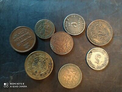 Small Collection Of Old Mixed Foreign Coins • 1.25£