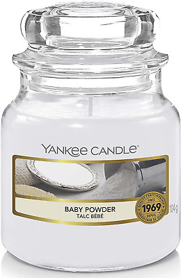 Yankee Candle Scented Candle | Baby Powder Small Jar Candle • 11.60£