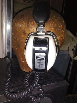 Vintage Rank 1970's Headphones Space Age Retro Styling, Good Condition Working • 25£