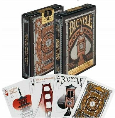 Bicycle Architectural Wonders Of The World Poker Playing Card Deck  • 7.99£