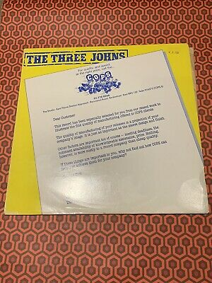 The Three Johns - World By Storm LP RARE COPS Edition • 5£