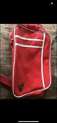 Dunlop Retro Red And White Messenger Bag • 10£