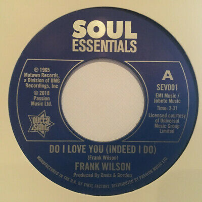 NEW 7  RE-ISSUE- FRANK WILSON - Do I Love You /Sweeter As The Days Go By- SEV001 • 11.95£