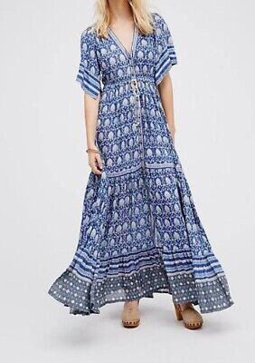 AU182.50 • Buy Spell And The Gypsy Oracle Maxi Dress Small