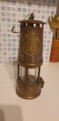 **The Protector Lamp And Lighting Co Ltd .Eccles Miners Lamp** • 32.99£