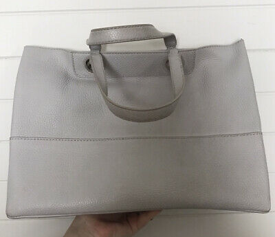 AU25 • Buy OROTON Grey Entourage Genuine Leather Tote