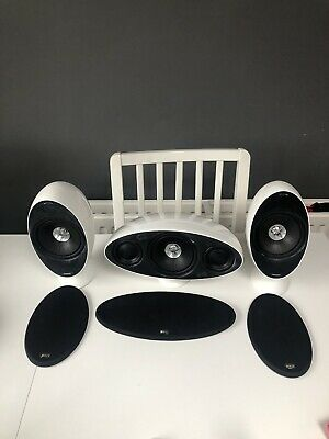 Kef 2 Speakers And 1 Centre Speaker • 77£