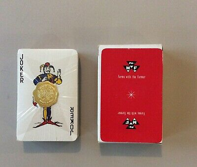 Massy Ferguson Pack Of Advertising Playing Cards Still Sealed With Outer Box • 5.50£