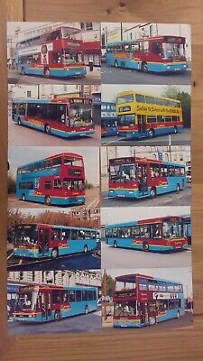 A Selection / Joblot Of 10 Go North East Bus Photographs (lot 1) • 5£