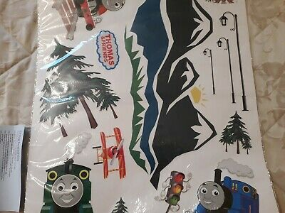 Thomas Tank Engine Trains Kids Bedroom 3D Wall Sticker Poster Vinyl Decal • 8.50£