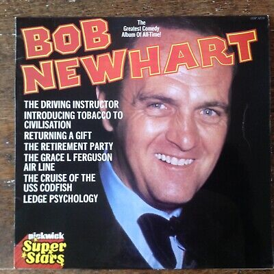 Bob Newhart The Greatest Comedy Album Of All Time Vinyl Lp Record • 0.99£