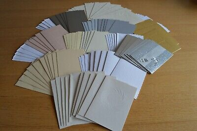 50 Assorted Blank Card And Envelope Bundle • 5£