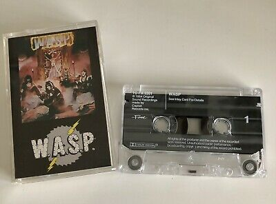 W.a.s.p. S/t Self Titled Cassette Tape Emi Fame Uk 1984 • 5.60£