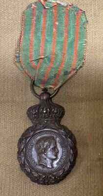 WW1 French St Helena Medal 1870 • 75£