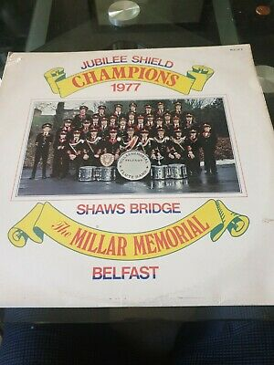The Millar Memorial Flute Band Jubilee Shield Champions 1977 • 20£