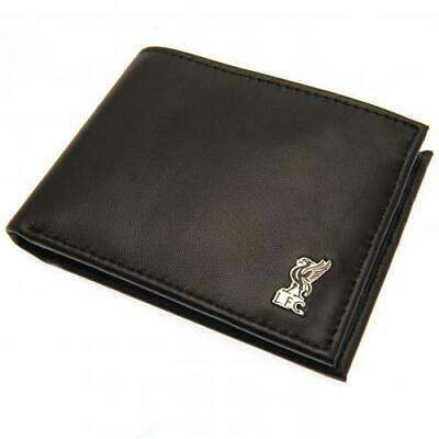 Official LIVERPOOL FC Metal Crest Leather WALLET Bi Fold LFC Gift • 22.99£