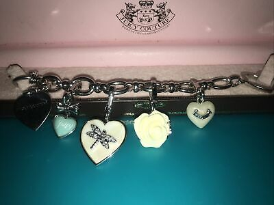 Juicy Couture Charm Bracelet • 10£
