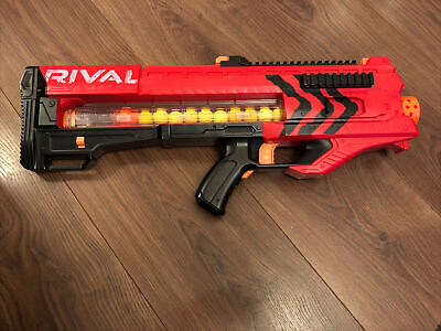 Nerf Gun Rival MXV-1200 With Bullets Balls Ammo Motorised Very Powerful • 9.50£