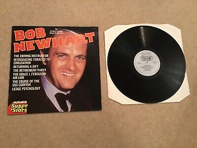 Bob Newhart The Greatest Comedy Album Of All Time! 12  Vinyl LP Record • 0.99£