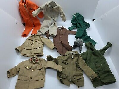 $ CDN51.84 • Buy Lot Of Vintage 60s Gi Joe Jumpsuits Jackets Accessories