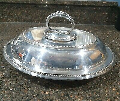 Walker & Hall Silver Plated Entree Dish • 7.99£