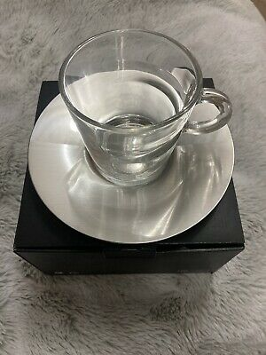 GENUINE Nespresso VIEW Lungo Cup And Saucer - New In Box • 8.99£