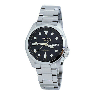 $ CDN232.89 • Buy Seiko 5 Sports Automatic Black Dial Stainless Steel Men's Watch SRPE57