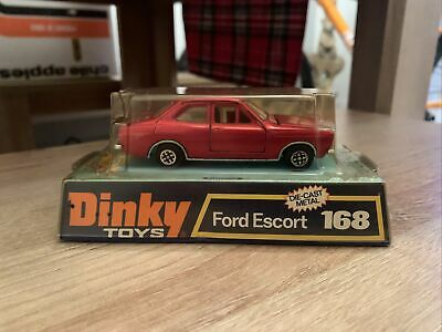 Vintage Dinky Toys 168 - Ford Escort - Boxed. • 17£