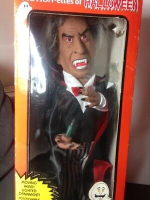 $ CDN70.07 • Buy Vintage Halloween Decor Vampire Animated Figurine Doll 1990s With Motion & Sound