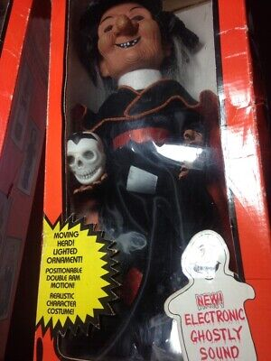 $ CDN84.34 • Buy Vintage Halloween Decor Witch Animated Figurine Doll 1990s With Motion & Sound