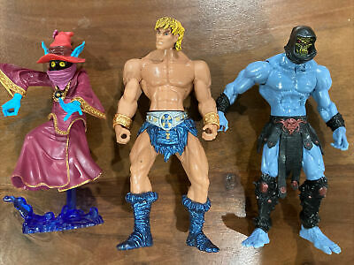 $20 • Buy Masters Of The Universe 200x Series Action Figure Lot~Orko~He-Man~Skeletor