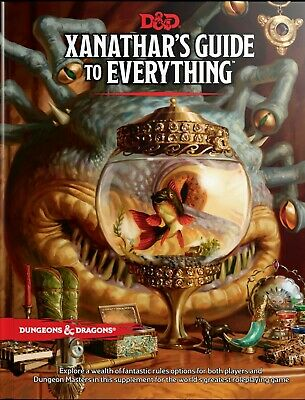 AU59.99 • Buy Dungeons & Dragons - 5th Edition - Xanathar's Guide To Everything