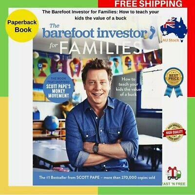 AU27 • Buy The Barefoot Investor For FAMILIES - BRAND NEW - FREE SHIPPING