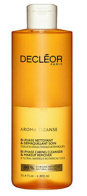 Decleor Aroma Cleanse Bi-phase Caring Cleanser And Makeup Remover Inc Eye 400ml • 22.95£
