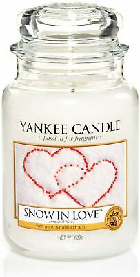Yankee Candle Classic Large Jar Snow In Love 623g • 21.99£